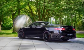 The Brabus 850 6.0 Biturbo Cabrio is a Mercedes-AMG S63 Cabriolet on Steroids