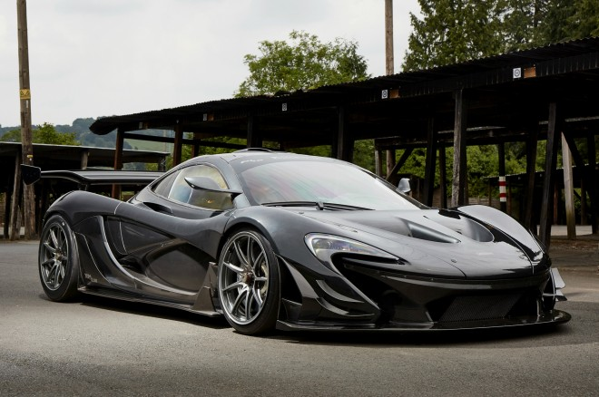 McLaren P1 LM front three quarters
