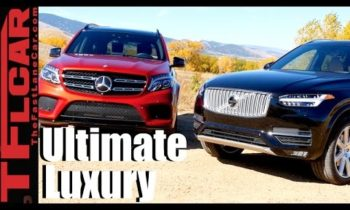2017 Mercedes-Benz GLS vs Volvo XC90 T6 Mashup Review: The Best European Luxury SUV is…