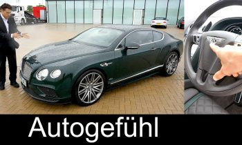 Review – 2016 Bentley Continental GT Speed