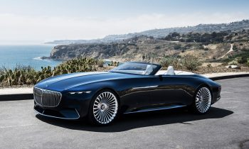 Revelation of luxury: Vision Mercedes-Maybach 6 Cabriolet.