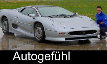 Experience the legendary Jaguar XJ220 supercar with Thomas! – Autogefühl