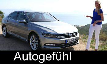 VW Volkswagen Passat B8 Sedan & Wagon/Estate/Variant FULL REVIEW test driven Magotan all-new neuer