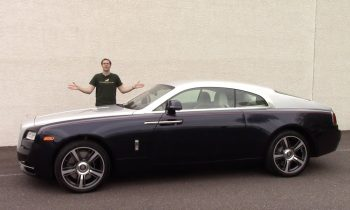 Here's a Tour of a $350,000 Rolls-Royce Wraith