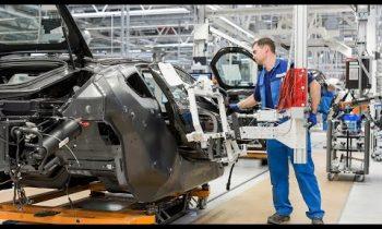 2016 BMW i8 Production