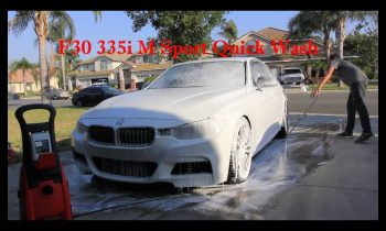 How to wash a F30 335i M Sport