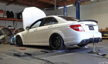 2014 Mercedes Benz C63 AMG Dyno – Agency Power Headers & Midpipe, Eurocharged Tune