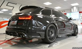730HP Audi RS6-R ABT with Milltek Exhaust INSANE Sound on the Dyno!