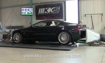 Aston Martin DB9 KKS-Performance Dyno