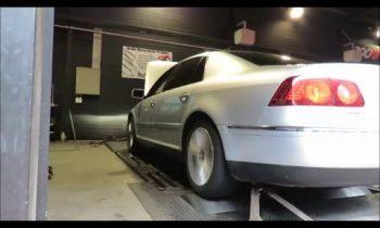 VW Phaeton 3.0TDI Dyno Test 271hp
