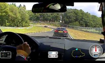 C63 AMG vs M3 v8 @ Nurburgring