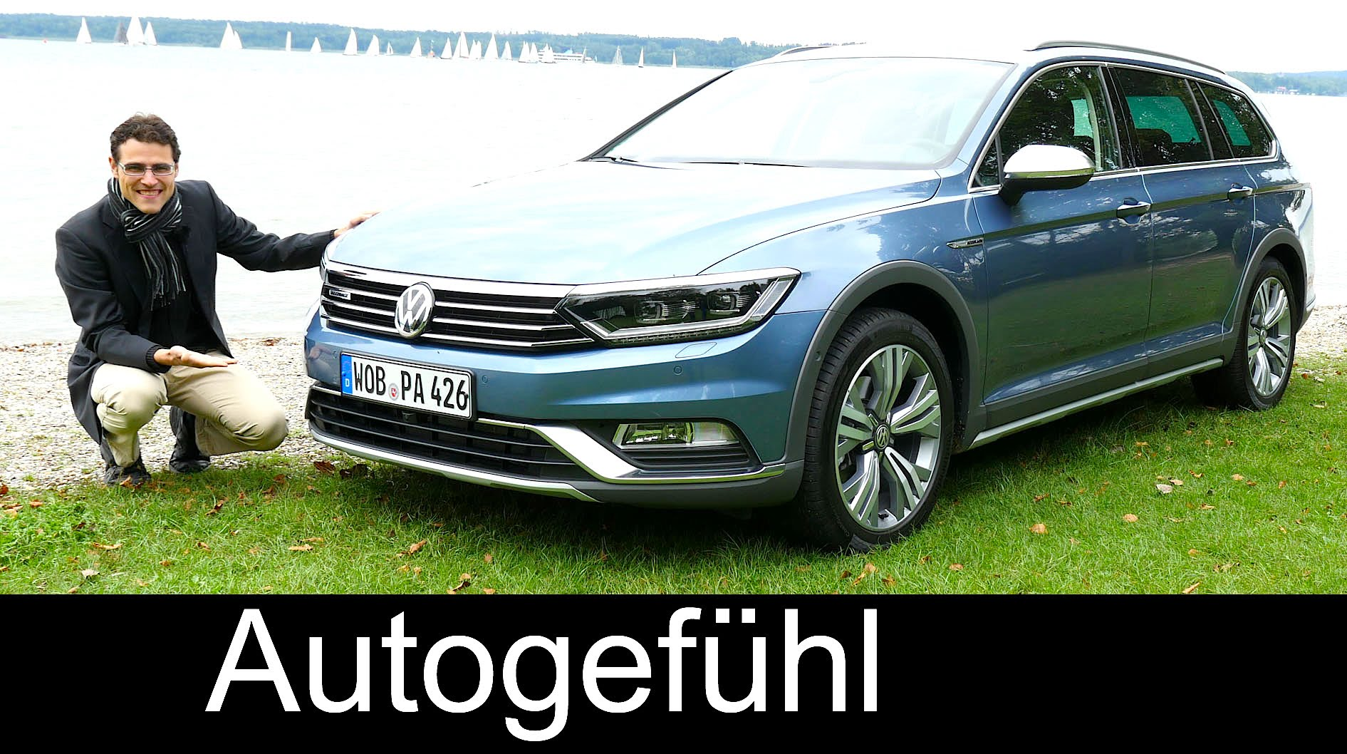 New Vw Volkswagen Passat Alltrack Full Review Test Driven B8 Offroad Estate Kombi 2016 Fastcarauto Com