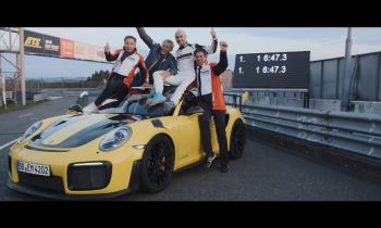 6 minutes, 47.3 seconds. Porsche sets a world record on the Nürburgring Nordschleife.