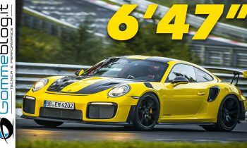 RECORD LAP: Porsche 911 GT2 RS NURBURGRING Nordschleife WORLD RECORD