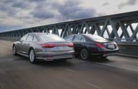 Test Audi A8 50 TDI & Mercedes S350d: Luxus bis ins kleinsteDetail