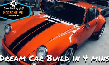 Home Built DIY Dream Porsche 911 in 4 minutes