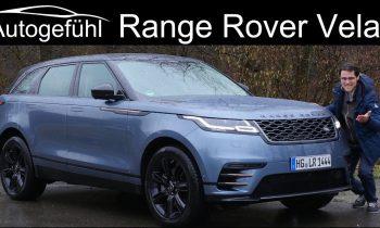 The new definition of luxury? Range Rover Velar FULL REVIEW – Autogefühl