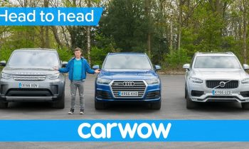 Volvo XC90 vs Audi Q7 vs Land Rover Discovery 2018 – what's the best seven seat SUV? | Head2Head