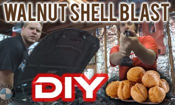 How To Walnut Blast Your N54 – DIY!