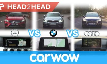 Mercedes COMAND vs BMW iDrive vs Audi MMI – in-car tech group test | Head2Head
