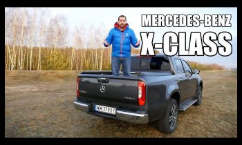 Mercedes-Benz X-Class pickup truck (ENG) – Test Drive and Review