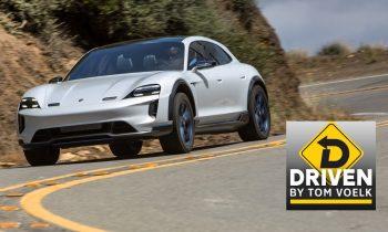 Driven! The Porsche Mission E Taycan Cross Turismo Concept Electric Vehicle