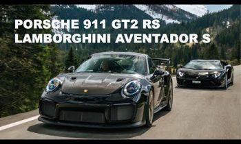 Which car is better? Porsche 911 GT2 RS or Lamborghini Aventador S?