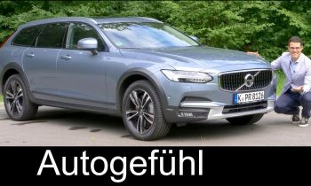 Volvo V90 Cross Country FULL REVIEW Test Pro CC 2018 – Autogefühl