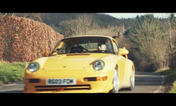 Porsche 993 Cup test drive