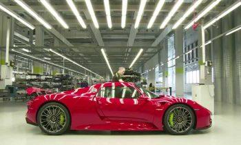 Footage – 918 Spyder manufactory: behind-the-scenes