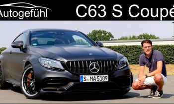 Mercedes C63 S AMG Coupé FULL REVIEW Facelift Mercedes-AMG C-Class – Autogefühl