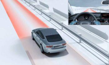 The Audi active lane assist