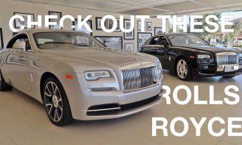 Rolls Royce and Bentley INVASION