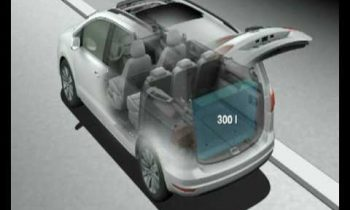 Volkswagen Sharan Animation Interior Flexibility