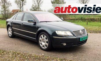 Peters Proefrit #15: Volkswagen Phaeton 6.0 W12 (2002)