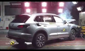 Euro NCAP Crash Test of VW Touareg