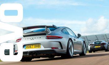 Porsche 911 GT3 v McLaren 570S Track Pack – DEADLY RIVALS