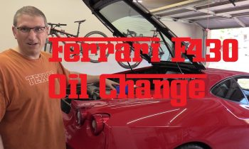 How to change the oil in a Ferrari F430