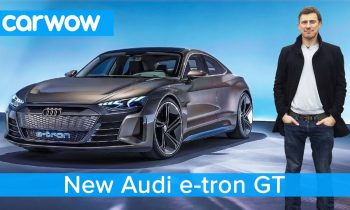 NEW Audi e-tron GT – is this EV a Tesla Model S beater?