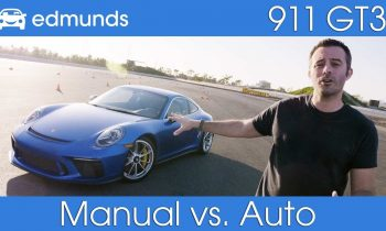 Porsche 911 GT3 Touring | How Much Does a Manual Transmission Slow You Down?