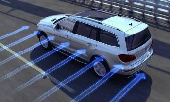 Crosswind Stabilization — Mercedes-Benz Safety Features