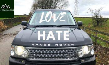 The RANGE ROVER: It's like Marmite