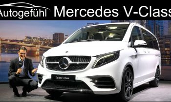 New Mercedes V-Class & Marco Polo REVIEW Exterior Interior Facelift V-Klasse 2020 – Autogefühl