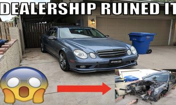 This E55 AMG Was Parted Out After A Mercedes Dealer Ruined It. The Story & What I Bought For My CDI