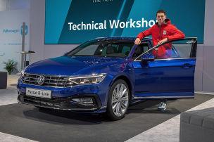 VW Passat Facelift (2019): Immer online im Passat Facelift