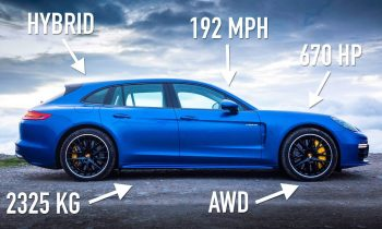 Porsche Panamera Turbo S E-Hybrid Sport Turismo: Road Review   Carfection 4K