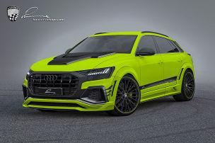 Audi Q8: Lumma Widebody Kit: Breite Backen für den Audi Q8