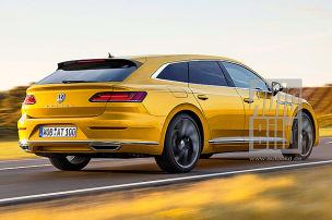 VW Arteon Shooting Brake (2019): Vorschau: VW Shooting Brake kommt!