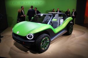 VW ID Buggy (2019): Elektro-Strandbuggy von VW
