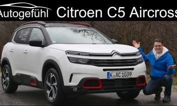 All-new Citroen C5 Aircross SUV FULL REVIEW – Autogefühl